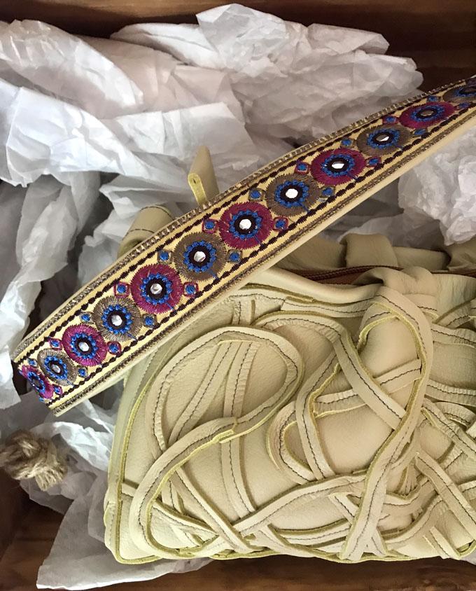 Bolso Samer Snake en piel amarilla2