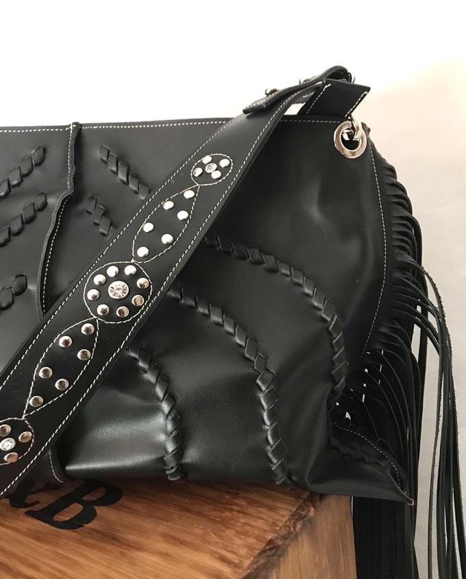 bolso piel negro bandida 04