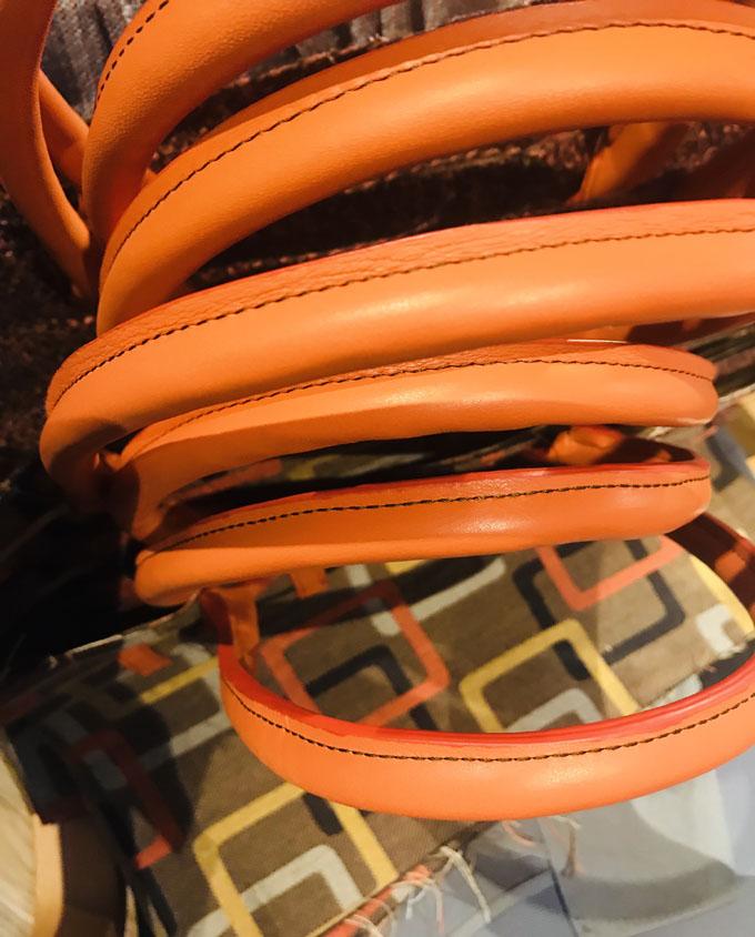 Asas de bolso redondas