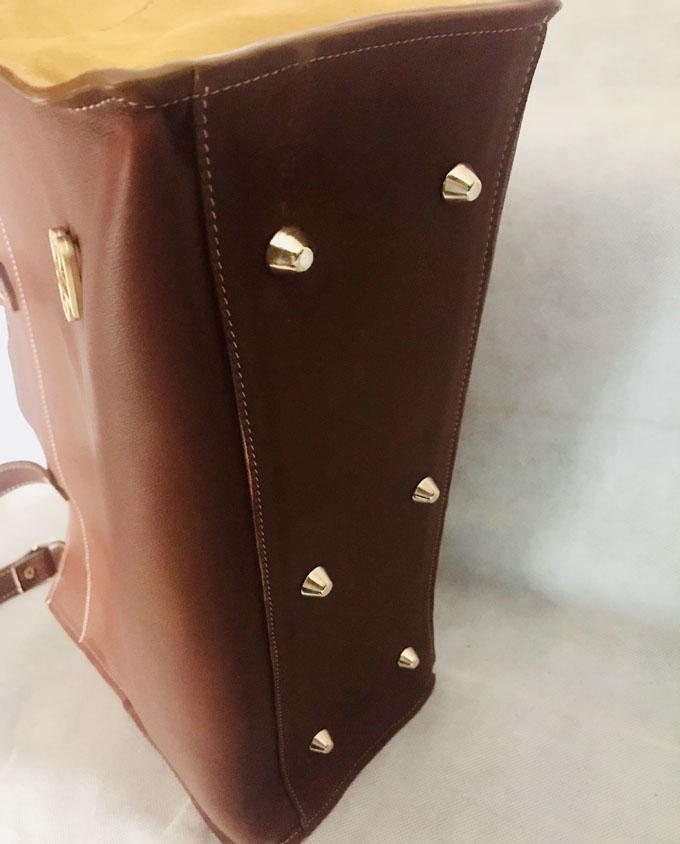 base de bolso con tacos de apoyo