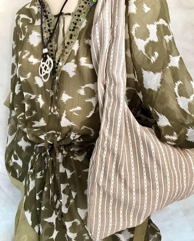 bolsa de playa niña safari reversible3