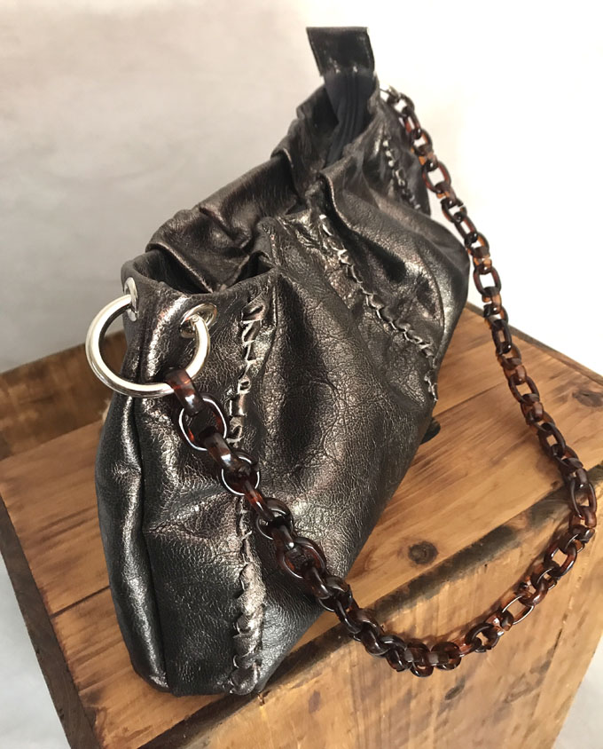 bolso piel bronce viejo saber 05