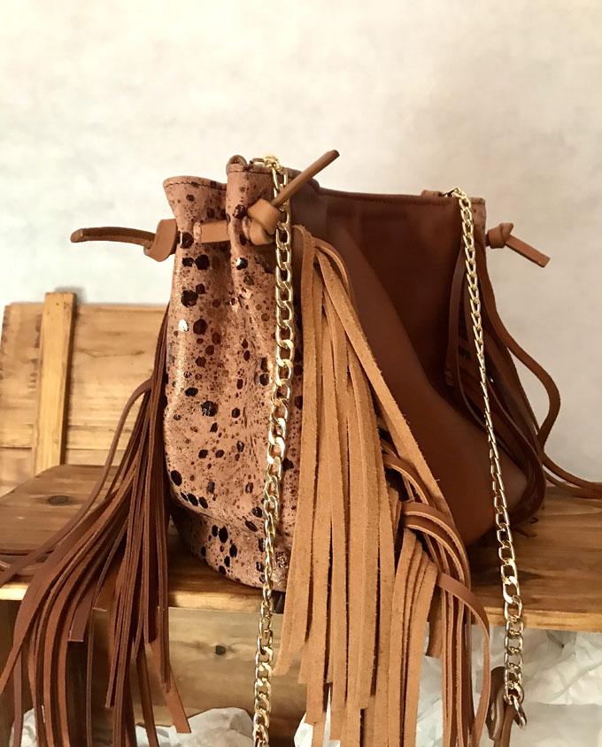 saco de piel marron 011