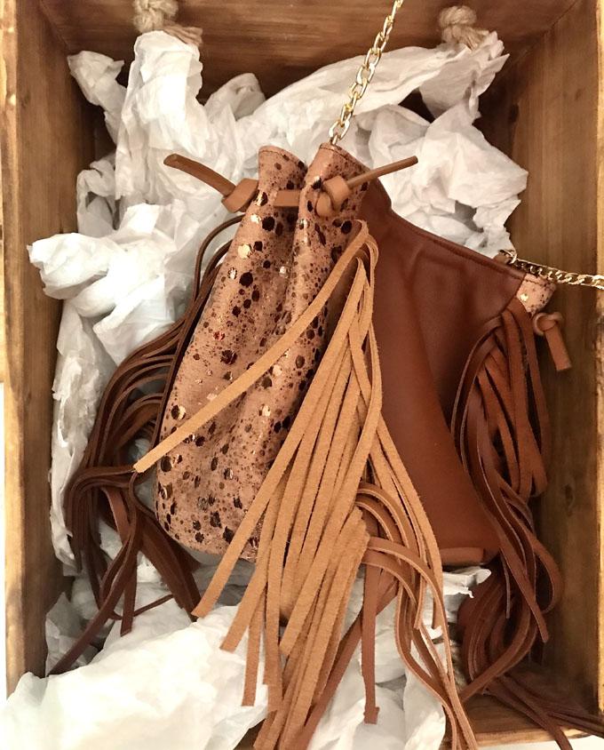 saco de piel marron 013