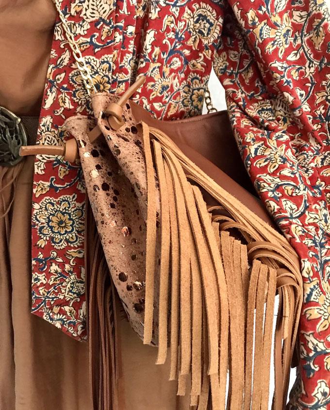 saco de piel marron 016